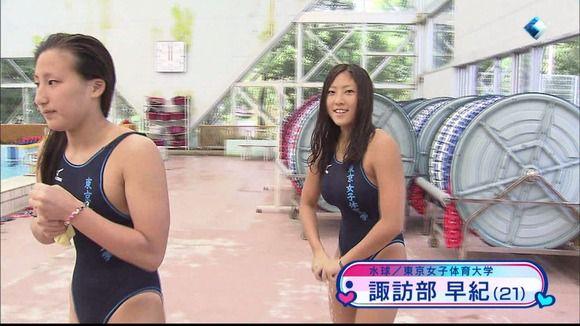 可愛い人多い水球女子五輪日本代表の胸筋ユニフォーム姿がエロ