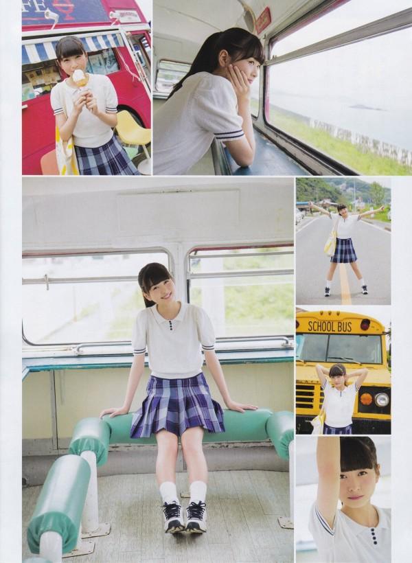 松岡はなちゃんに良く似合うきれいなセーラー服