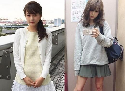 私服ギャップで話題の女子大生キャスター沖田愛加、グラビアで見せたムチムチ下半身がエロいw